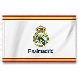 Bandera Real Madrid Blanca - Blanca 150x100 cm 5'x3'