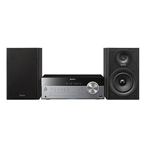 Sony CMT-SBT100Sistema Hi-Fi, Potenza 50W, Lettore CD, Radio FM/AM, Bluetooth, NFC, USB,...