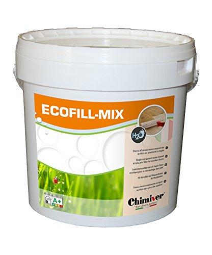 Chimiver - ECOFILL - MIX | Stucco all'acqua riempitivo monocomponente acrilico da miscelare con...