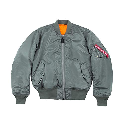 Alpha Industries MA-1 Giacca Bomber vintage green