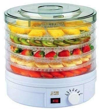 Vruta Vegetable and Fruit Digital Food Dryer and Dehydrator with Temperature Control and Timer