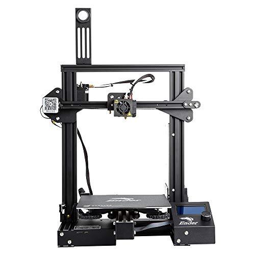 Comgrow Creality 3D Ender-3 Pro Stampante 3D con Adesivo Magnetico per Letto Caldo & Dispositivo di...