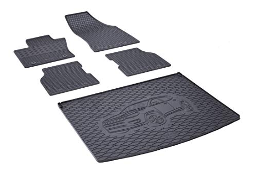 Set di tappetini in Gomma e Vasca per Bagagliaio – RIGUM-14026-904