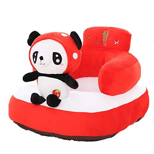 Zhongsufei-PP Divano per Bambini Seggiolone for Bambini Sedia for Bambini Seggiolone for Neonati Imbottiti for Bambini per 0-12 Mesi Baby (Colore : Cartoon Panda, Dimensione : Taglia Unica)