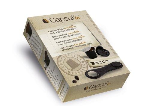 Capsul'In Coffee Capsule vuote compatibili Nespresso ®