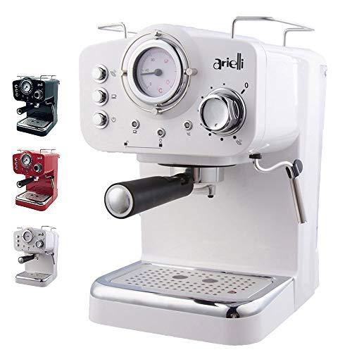 ARIELLI KM-501 Modello 2019 Macchina Caffè Espresso Macinato/Cialde 2 Filtri per 1/2 tazze...
