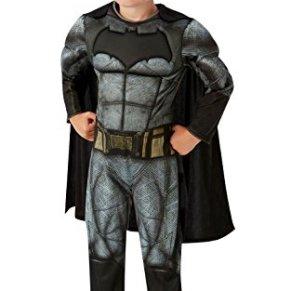 DC Comics - Disfraz de Batman Deluxe para niños, Justice League, 3-4 años (Rubies 640809-S)