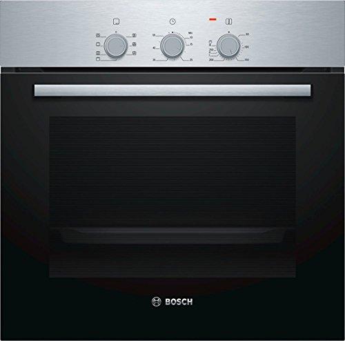 Bosch Serie 2 HBF011BR0J forno Forno elettrico 66 L 2970 W Nero, Acciaio inossidabile A
