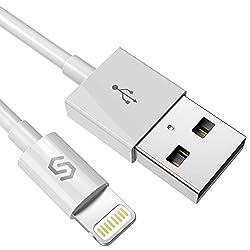 Kaufen Syncwire 2M iPhone Ladekabel - [Apple MFi zertfiziert] Lightning Kabel - Lightning Ladekabel für iPhone X/XS/XS Max/XR 8 Plus 7 Plus 6s Plus 6 Plus 6 5S 5C 5, iPad Air 2, Mini 3 - Neufassung Weiß