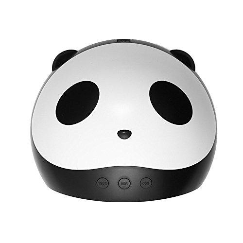 BFACCIA Asciugacapelli per Unghie con Lampada Panda Pattern UV LCD con 3 Timer Integrato per Gel e...