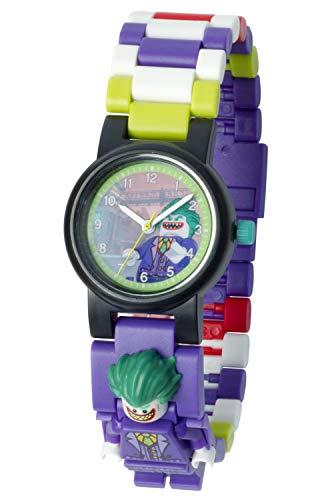 LEGO Batman 8020851 Orologio da polso componibile per bambini con minifigure Joker