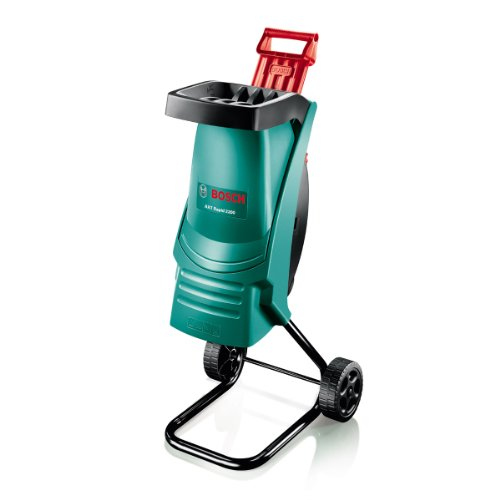 The Bosch AXT Rapid Shredder is a super little shredder which we would recommend it to anyone who looking to spend up to £200, if you have a lots of shredding to do regularly then we would recommend something a little more powerful but for shredding branches a few times a year its perfect. For the price it the best model when compared to most other model.