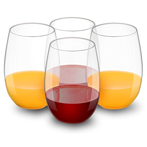 verres vin en plastique par qhyk 100 tritan bpa ea gratuit r utilisables co. Black Bedroom Furniture Sets. Home Design Ideas