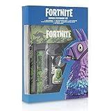Fortnite Set Papelería Completo para Niños | Set de Papelería 12 Piezas, Material Escolar Edición Limitada Con Cuaderno A4, Estuche Fortnite y Lápices de Colores | Regalo Fortnite Niño