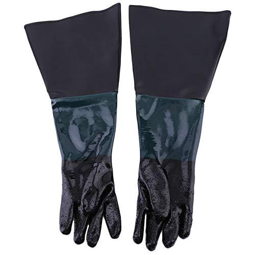 Guanti da 60 cm in PVC morbido e confortevole per macchina per la sabbiatura Guanti per armadietti...