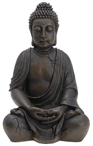 Buda Budda Figura Escultura Estatua 50 cm Terraza En El Jardín 3