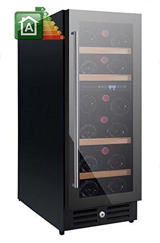 Nevada Cantina vino NW20D-FG con porta full glass da 29,5cm