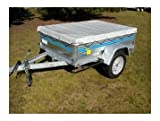 'Trailer 680g/M² - 2.56mx1.34mx0.10 m - Sandow and Ties available - Trailer Trailer Car Protection - Small