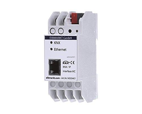 EIBMARKT® EIB/KNX IP Schnittstelle, Interface mit bis zu 5 Tunneling Verbindungen gleichzeitig