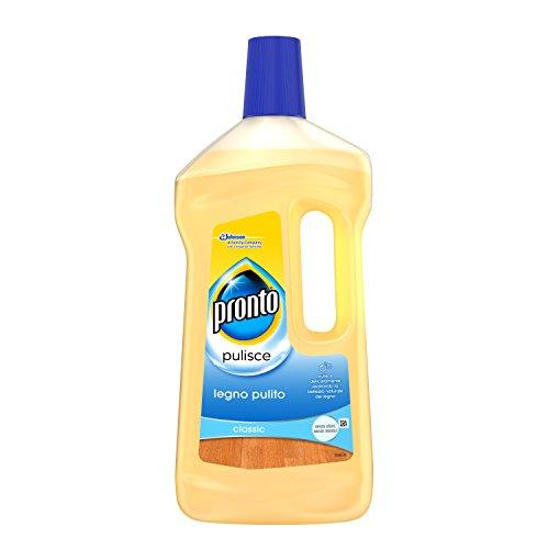 Pronto - Legno Pulito, Detergente 5 in 1 - 4 pezzi da 750 ml [3 l]