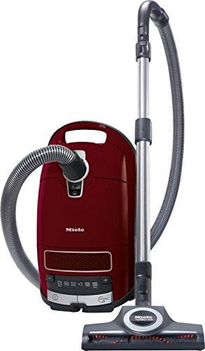 Miele Complete C3 Cat & Dog Powerline Aspirapolvere, 890 watts, 4.5 litri, 76 decibels, Rosso Rubino