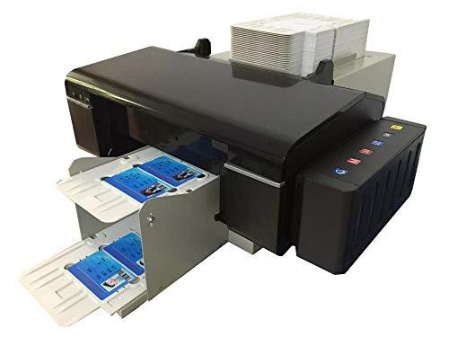 Syoon automatico PVC ID card Printing Machine con 51PCS PVC vassoio di carta per stampante Epson