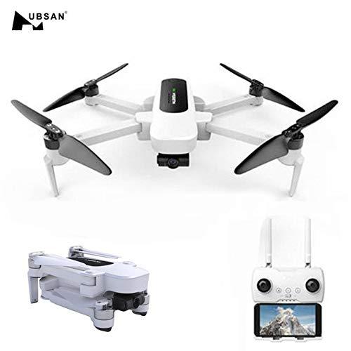 Rabusion Hubsan H117S Zino GPS 5G WiFi 1KM FPV con videocamera 4K UHD a 3 Assi cardanico RC Drone quadricottero Regolamentazione Britannica