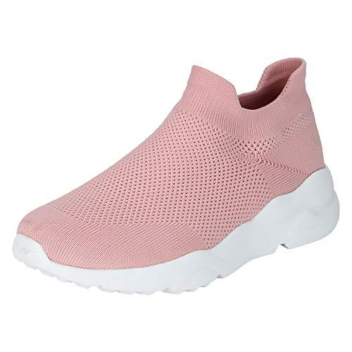 Red Tape Women's RLO0286 Peach Nordic Walking Shoes-4 UK/India (37 EU) (RLO0286-37)
