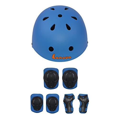 Gengyouyuan Equipaggiamento protettivo I bambini pattinaggio dispositivi di protezione adatta...