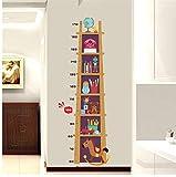 HHZDH Trojaner Spielzeug Höhe Maßnahme Leiter Wandaufkleber Für Kinder Baby Kindergarten Schlafzimmer Aufkleber Wachstum Chart Decor Poster Kunst