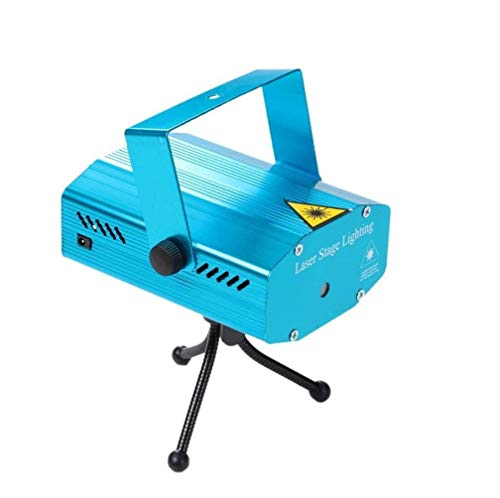 Mawson Mini Laser Projector Stage Lighting Sound Activated Laser Light for Party and DJ -Sound Activated (Multicolour)