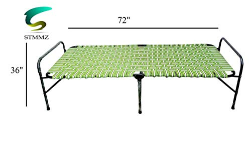 S.T. TRADERS Iron Folding Bed