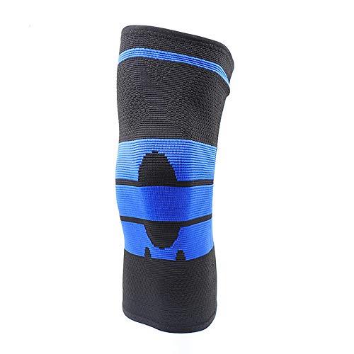 sfycstd Ginocchiere Supporta Brace Volleyball Basket Meniscus Protezioni Patella 3D Weaving Silicone...