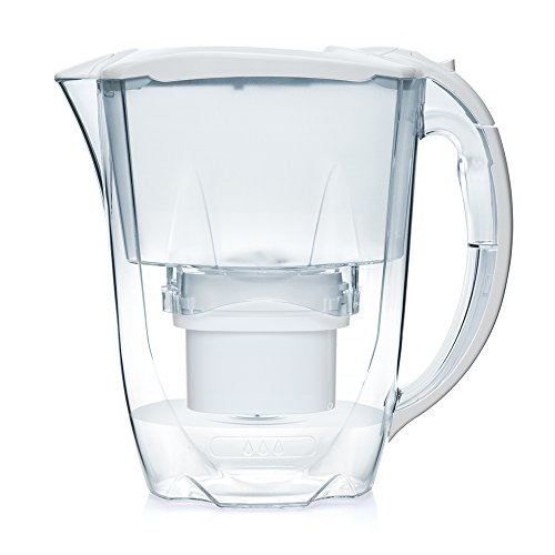 Aqua Optima Oria 2.8L water filter jug with cartridges bundle (white) (1 month of Aqua Optima Evolve 30-Day) (1 cartridge)