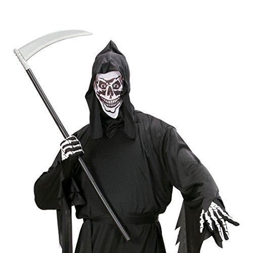 NET TOYS Guadaña Plegable para Zombi Arma Hoz Accesorio Halloween Terror Cuchillo de la Muerte
