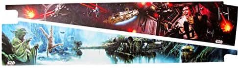 Stern Pinball Parts Star Wars Inside Art Blades Star Wars Episode 2#502-7049-00