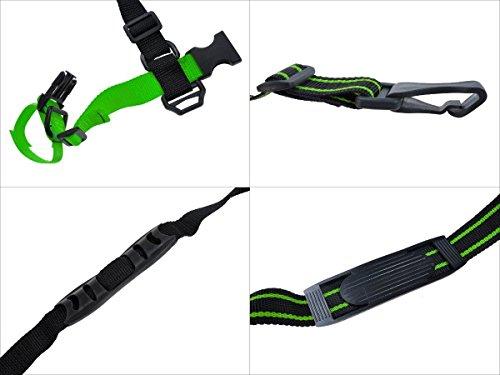 Ski Handhold Tracolla portasci–Impugnatura per trasportare sci e bastoncini da sci in mano o...