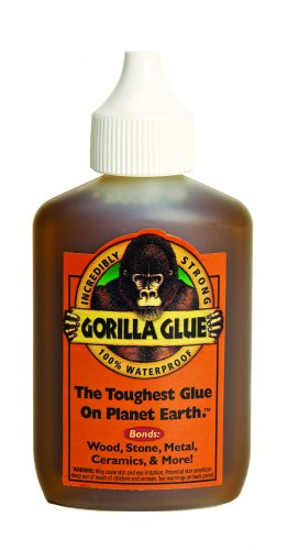 Gorilla Glue Adhesive, 2-Ounces #50001