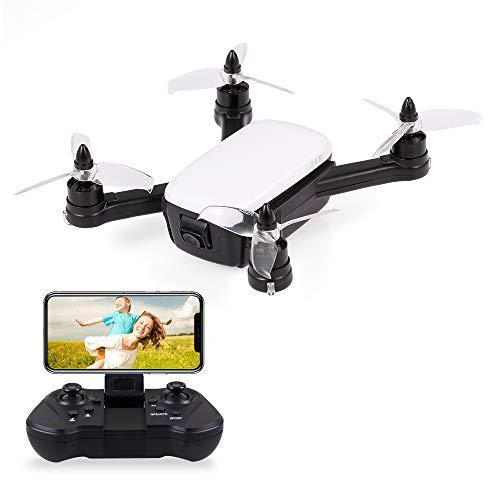 Leslaur 913 1080P 5G WiFi FPV Drone con Fotocamera Brushless GPS Quadcopter Gesture Foto altitudine...