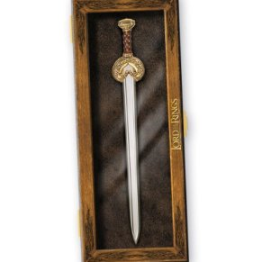 Lord Of The Rings King Theoden Sword Letter Opener (accesorio de disfraz)