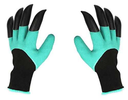 Nnrt Garden guanti con artigli, ideale per scavare sarchiatura semina Poking–sicuro per...