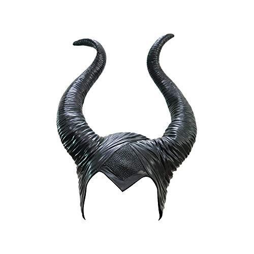PIKOVIC Disfraces maléficos para Halloween, Disfraces de Halloween, Disfraz de maléfica, látex, Cosplay Negro