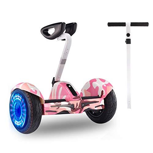 Equilibrio Scooter con/Bluetooth luci LED telescopico Manubrio Smart elettrica Transporter...