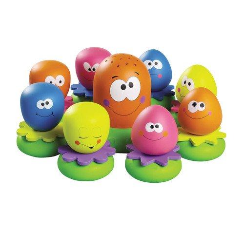 """TOMY Wasserspiel für Kinder \""""Okto Plantschis\"""" mehrfarbig - hochwertiges Kleinkindspielzeug - Spielzeug für die Badewanne - ab 12 Monate"""