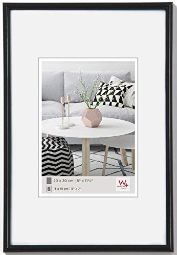 Walther Design KB400H Galeria, Cornice in Plastica, Nero, 40 x 100 cm