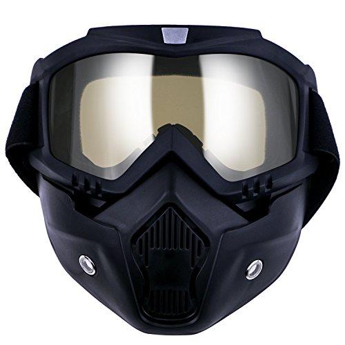 Gafas para moto TedGem Gafas Máscara de motocicleta