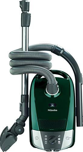 Miele Compact C2 Excellence Ecoline, Aspirapolvere a Sacco, 550 W, 72 Decibel, 6 velocità, Pétrol