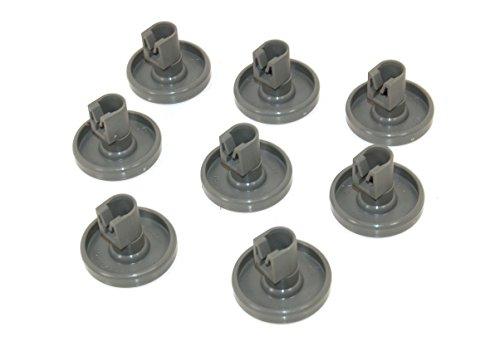 Zanussi 50286965004 - Confezione da 8 cestini inferiore per lavastoviglie.