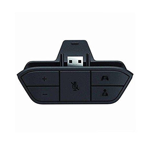 KOBWA Stereo Headset Adapter Headphone Converter for Xbox One Game Controller - Universal Headphone Adapter Support Any Version of The Controller Host