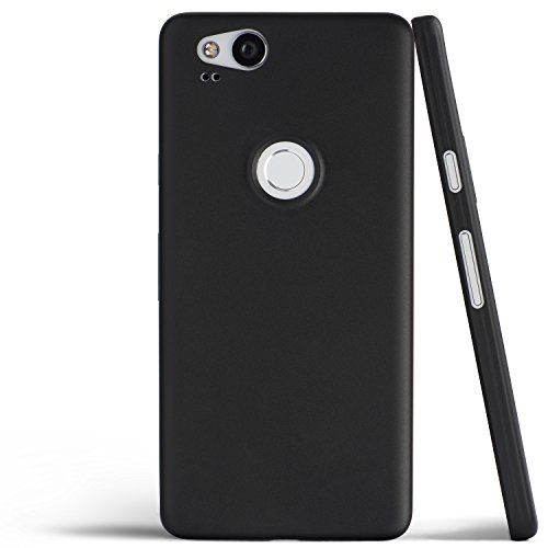Pixel 2 Case, Thinnest Cover Premium Ultra Thin Light Slim Minimal Anti-Scratch Protective - for Google Pixel 2 | totallee (Midnight Black)